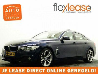 tweedehands BMW 420  4 Serie, Gran Coupé i High Executive M-Sport Aut8 Schuifdak, Leer, Navi, Xenon