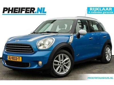 tweedehands Mini Cooper D Countryman 1.6 ALL4 Chili Climate control / Stoelverwarming / Leer / Trekhaak / Pdc / Multimedia