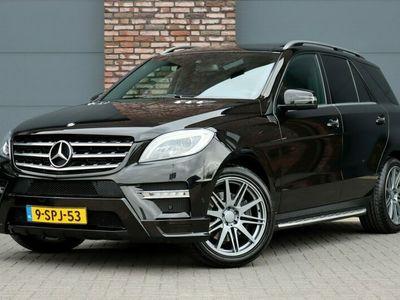 tweedehands Mercedes 350 M-KLASSEBlueTEC AMG Aut7, Luchtvering, Carlsson, Panoramadak, Keyless-Go, Leder, Memory, Comand, Camera, Adap. Bi-Xenon, Stoelverwarming, Parkeerassistent, Etc.
