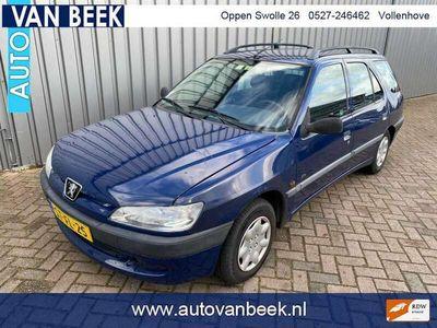 tweedehands Peugeot 306 Break 1.4 XR apk 19=10 = 2021