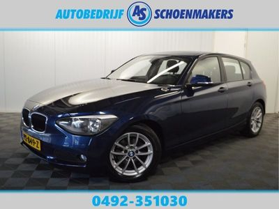 tweedehands BMW 116 1-SERIE d Executive // NAVI CRUISE PDC CLIMA LMV