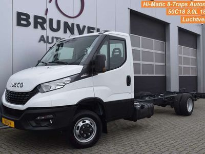 tweedehands Iveco Daily 50C18A8/P 3.0 Liter 180pk, Hi-Matic, LUCHTVERING,