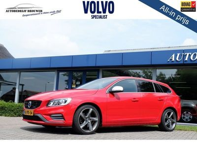 tweedehands Volvo V60 MY15 2.0 D4 181PK GEARTRONIC-8 R-DESIGN / INTELLISAFE |NOV-14| *all in p[rijs*