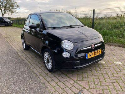 tweedehands Fiat 500 1.2 Lounge, Airconditioning, Panoramadak, LM velge
