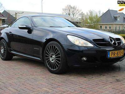 tweedehands Mercedes SLK200 K | Leder | LMV | Cruise | Stoelverw |