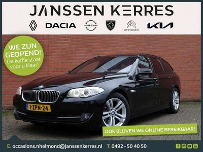 tweedehands BMW 528 5 Serie Touring i 245PK High Executive AUTOMAAT Navi, HUD, Xenon, Clima, Cruise