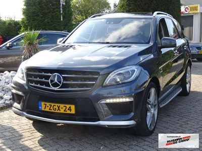 tweedehands Mercedes ML63 AMG AMG Performance Pack 2013 558PK 2013 V8 Nightvision ML