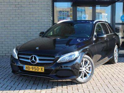 tweedehands Mercedes C350 Estate Estate Hybrid Avantgarde Aut.7 LED-NAVI-BUR
