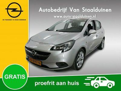 tweedehands Opel Corsa 1.0 Turbo Edition Airco, Cruise Controle, Park Pilot v+a, Turbo motor, 16 inch velgen