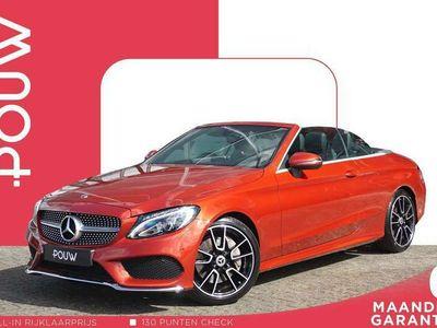 tweedehands Mercedes C250 Cabriolet 210pk AUT AMG Line + 19'' Velgen + Stoel