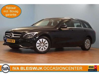 tweedehands Mercedes C180 Estate Ambition automaat climate, cruise, navi, PD