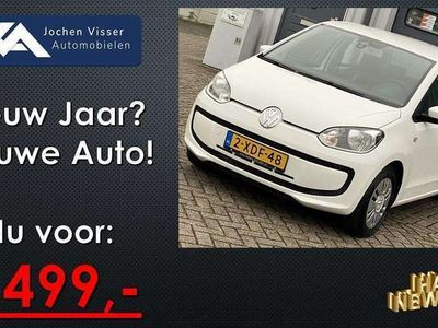 tweedehands VW up! up! 1.0 move5drs BlueMotion Executive pakket - Airco - Navigatie - CNG