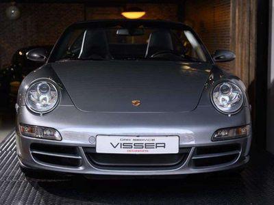 tweedehands Porsche 997 9972S Cabriolet Handgeschakeld Sealgrau-met