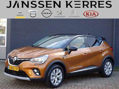 tweedehands Renault Captur TCe 100 PK Intens 9,3 inch Navi/Clima/Camera/Radio-USB-DAB/Bluetooth/Cruise control/Parkeersensoren/LM-velgen/LED-koplampen