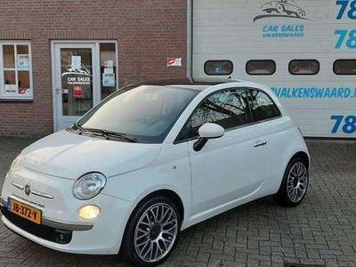 tweedehands Fiat 500 1.2i // Panoramadak // Navigatie // 2014