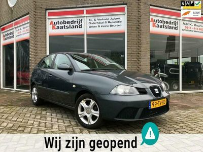 tweedehands Seat Ibiza 1.4-16V Trendstyle - Airco - Cruise - Έlectric ramen