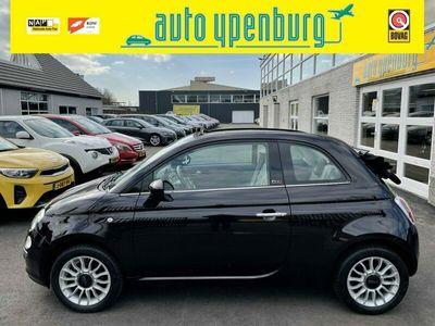 tweedehands Fiat 500C 1.2 Lounge Cabriolet * 77.123 Km * Leder / Stof * Climatronic *