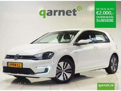 tweedehands VW e-Golf | Volledig Elektrisch | Ex-Btw | Navigatie | Led Koplampen | Climate Control | Slechts 15.896km | Wegenbelastingvrij |