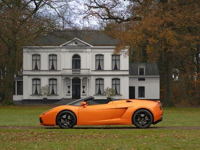 tweedehands Lamborghini Gallardo 5.0 V10 Spyder   Carbon stuurwiel   Carbon interie