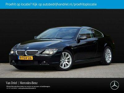 tweedehands BMW 645 6-SERIE Ci   Automaat Alarm Cruise Control Memory Xenon HiFi
