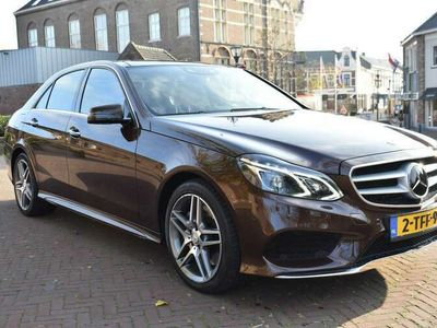 tweedehands Mercedes E350 BLUETEC DESIGNO AMG Sport / Distronic Plus / Lucht