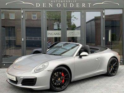 tweedehands Porsche 911 Carrera 4S Cabriolet 991 PDK AUTOMAAT NAVI/LED/LEER/20INC