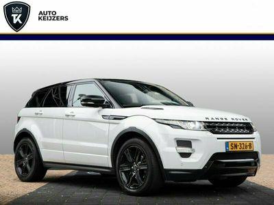 tweedehands Land Rover Range Rover evoque 2.2 SD4 4WD Dynamic Meridian Pano Leer Camera Navigatie Stuurwielverwarming Zondag a.s. open!