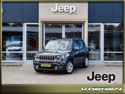tweedehands Jeep Renegade 1.0T 120Pk Limited / LED Lights / Apple Carplay