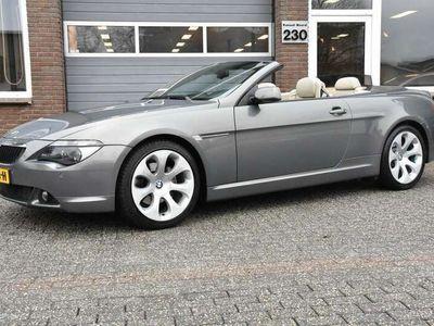 tweedehands BMW 630 Cabriolet 630I EXE LEDER/ECC-AIRCO/CRUISE/XENON