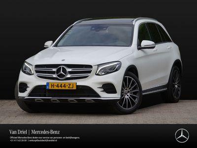 tweedehands Mercedes GLC250 GLC4MATIC   Trekhaak Panorama AMG Line Camera LED