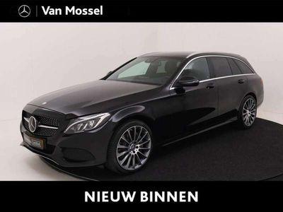 tweedehands Mercedes C350 Estate e Lease Edition Designo leder / 19 inch/ su