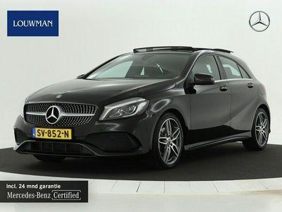tweedehands Mercedes A160 AMG Automaat | Navigatie | Panoramadak | Cruise control | Airconditioning | parkeersasist enz... Inclusief 24 MB Premium Certified garantie voor Europa.