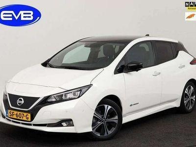 tweedehands Nissan Leaf TEKNA 40 kWh, VELE OPTIE'S, MARGE INCLUSIEF