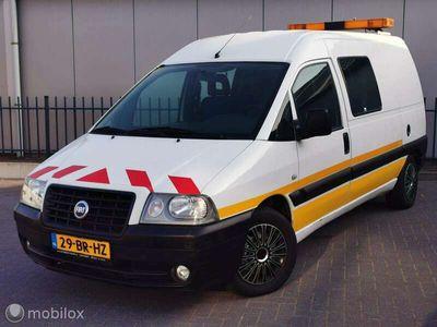 tweedehands Fiat Scudo Bestel 2.0 JTD lang dubbel cabine zie text