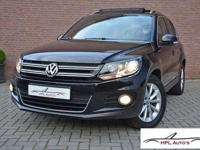 tweedehands VW Tiguan 1.4 TSI 160pk DSG Sport&Style - Lounge * Panoramad