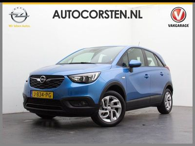 tweedehands Opel Crossland X AUT. T111pk Navi 360Camera Pdc-A+Voor MultiMedia IntelliLink ✅BorkHerk.Led OnStar WiFi 4G Apple Carplay Lmv Keyless Cruise Licht+Regen-Sensor UsB Lmv DaB EsP HillHold Misl. Connected Services 1.2 Turbo Innovation 29.000nieuw! net beurt ge