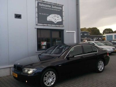 tweedehands BMW 745L 745 i Executive xenon leer c cruise bijtellings