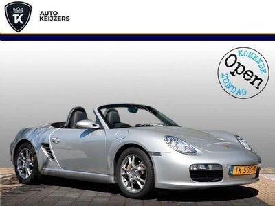 tweedehands Porsche Boxster 2.7 RHD Leer Xenon Stoelverw. Climate Zondag a.s.