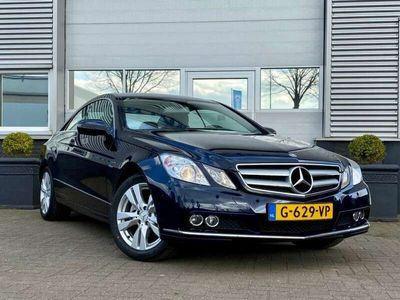 tweedehands Mercedes E250 250 COUPE 204 PK ELEGANCE AUTO LEER NAVI