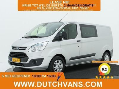 tweedehands Ford Custom Transit2.2TDCI L2H1 Dubbele Cabine Airco / Navigatie / Tr