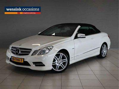 tweedehands Mercedes 200 E-KLASSE CabrioletCGI | AMG Styling | 1e Eig. | Navigatie | Cruise control |