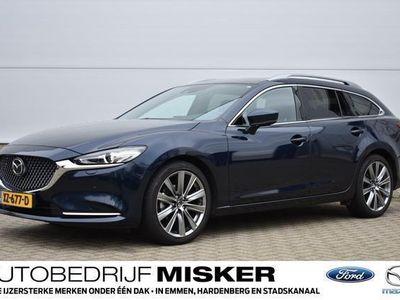 tweedehands Mazda 6 Sportbreak SIGNATURE,AUTOMAAT,SKYACTIV-G,2.0 165PK