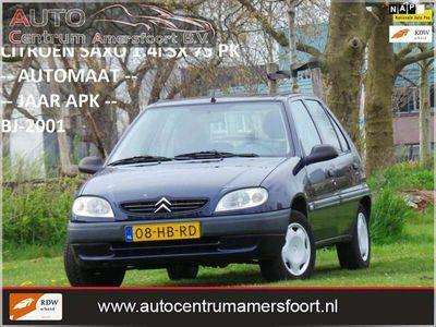 tweedehands Citroën Saxo 1.4i SX ( AUTOMAAT + INRUIL MOGELIJK )