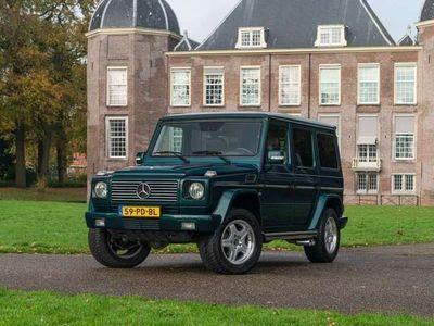 tweedehands Mercedes G500   Youngtimer   Origineel NL