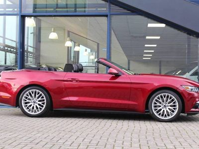 tweedehands Ford Custom Mustang 2.3EB 317PK Convertible Mustang | 1e EIG. | SYNC-3 | NL AUTO |PACK