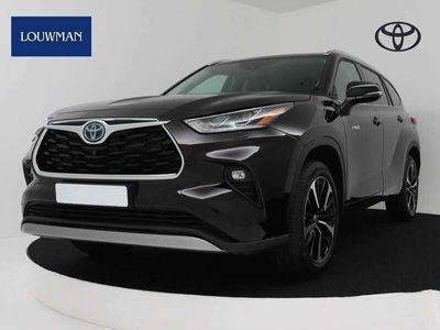 tweedehands Toyota Highlander 2.5 AWD Hybrid Premium   Έlectric glazen panoram