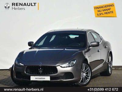 tweedehands Maserati Ghibli 3.0 330pk / 1e EIGENAAR / SLECHTS 50.280 KM /