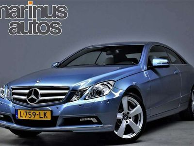 tweedehands Mercedes E350 Coupé CGI 292pk Automaat Avantgarde Sportstoelen/L