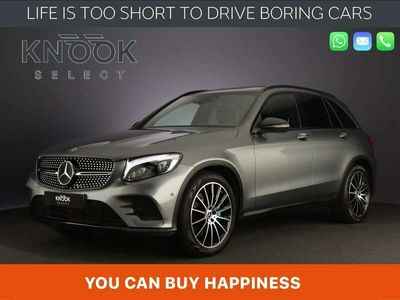 tweedehands Mercedes GLC350 350e 4MATIC AMG Night   Luchtvering   Panorama   S
