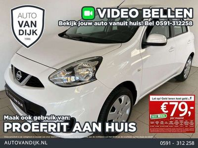 tweedehands Nissan Micra 1.2 DIG-S Acenta AIRCO CRUISE BLUETOOTH CARKIT Έlectric RAMEN CE